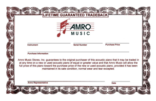 Guaranteed Tradeback at Amro Music in Memphis