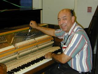 piano tuner/technician | Amro Music, Memphis