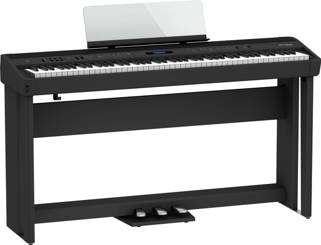 Roland FP-90x Digital Piano with Stand & 3 Pedals