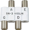 Pitch pipe for tuning a cello