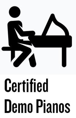 Certified Demo Pianos