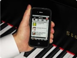 iphone controller for player piano system