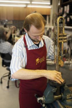 Trumpet repairman