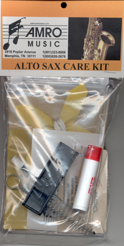 saxophone care kit | saxophone care and maintenance