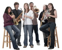 school band students