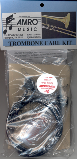 trombone care kit | trombone care and maintenance