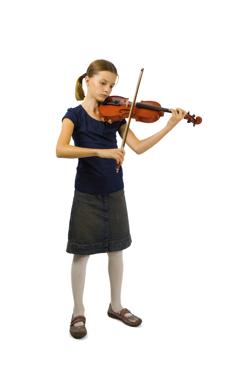 Viola player