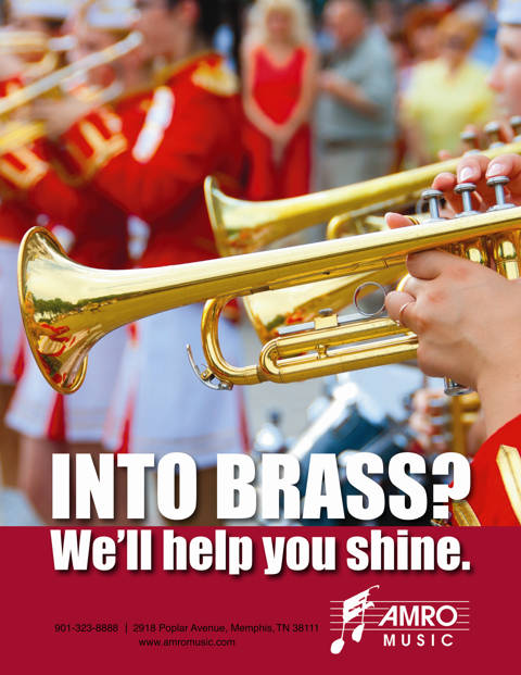 Amro Music Band Ad: Into Brass?