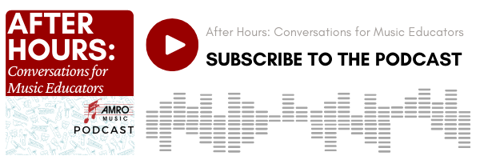 playlist button to subscribe to After Hours podcast