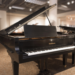 Baldwin 9' Ebony Satin Grand Piano - SOLD