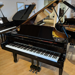 "Boston 5' 1"" Ebony Polish Grand Piano"