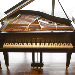 Kawai 5' GE-1 Ebony Satin Grand Piano - SOLD