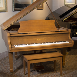"Kawai KG-1D 5' 1"" Walnut Satin Grand Piano - SOLD"