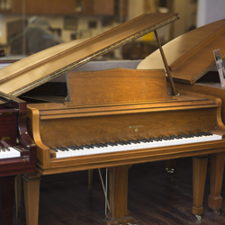 Knabe 5' Walnut Satin Grand Piano - SOLD