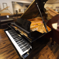 "Maeira 6' 1"" Ebony Polish Grand Piano - SOLD"