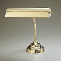"10"" Incandescent Gooseneck Vertical Piano Lamp"
