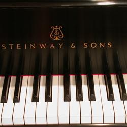 Piano keys after restoration