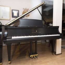 Steinway Model L 1931 Ebony Satin Grand Piano - SOLD