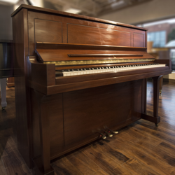 Steinway Model 1098 Mahogany Satin Studio Piano - SOLD