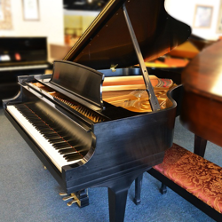Steinway Model M 2002 Grand Ebony Satin - SOLD