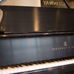 Steinway Model O 1908 Grand Ebony Satin - SOLD