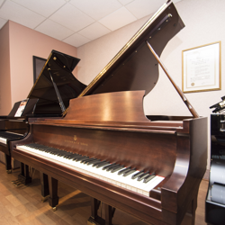 "Steinway 5' 1"" Model S Mahogany Grand Piano - SOLD"