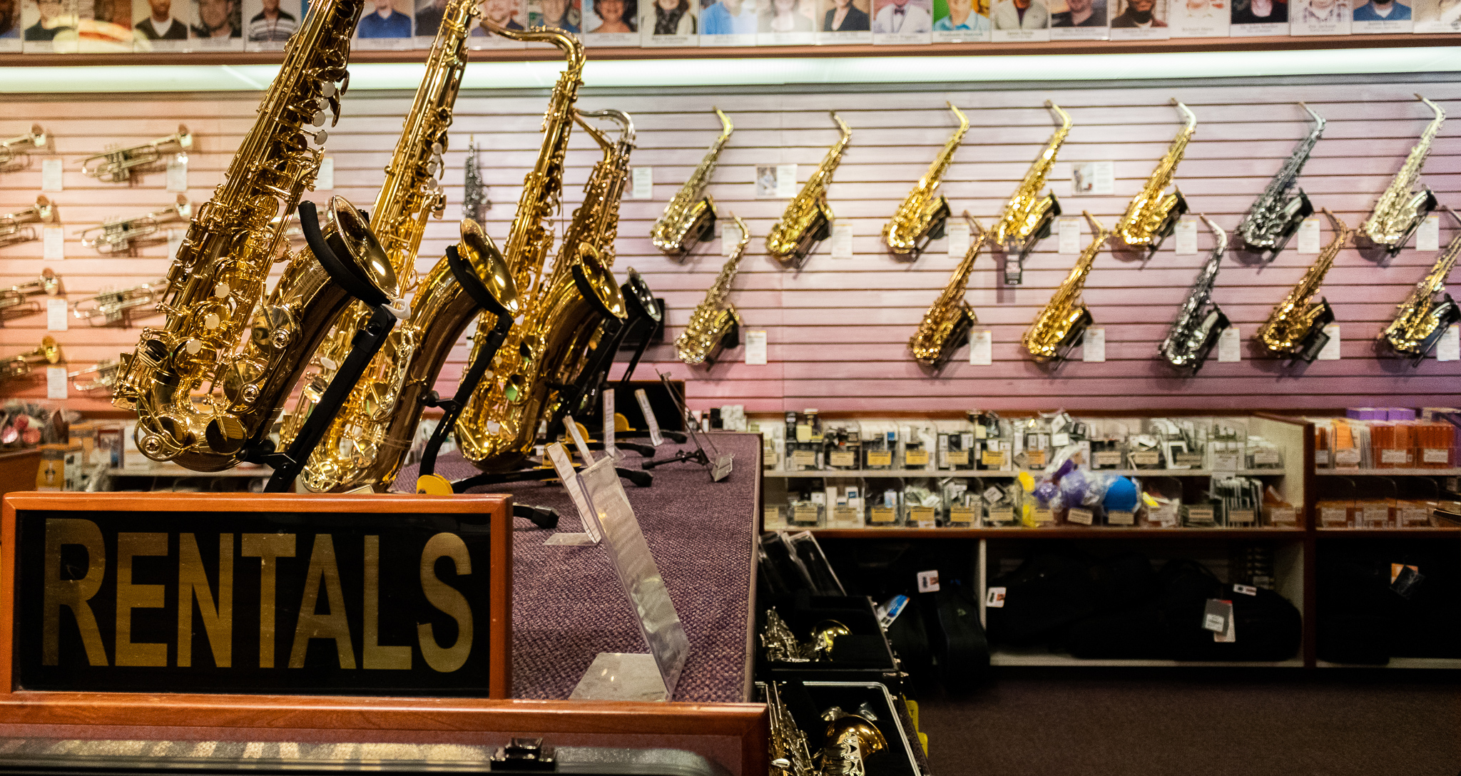 Saxophone Rental in Memphis