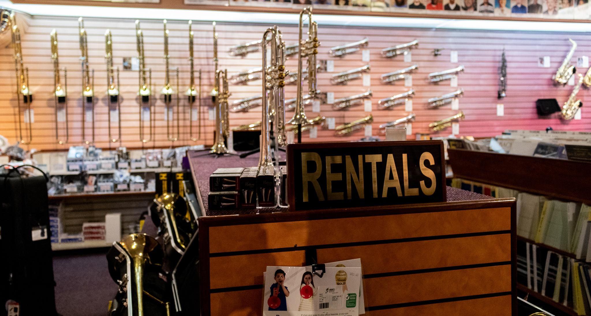 Trombone Rental in Memphis, TN