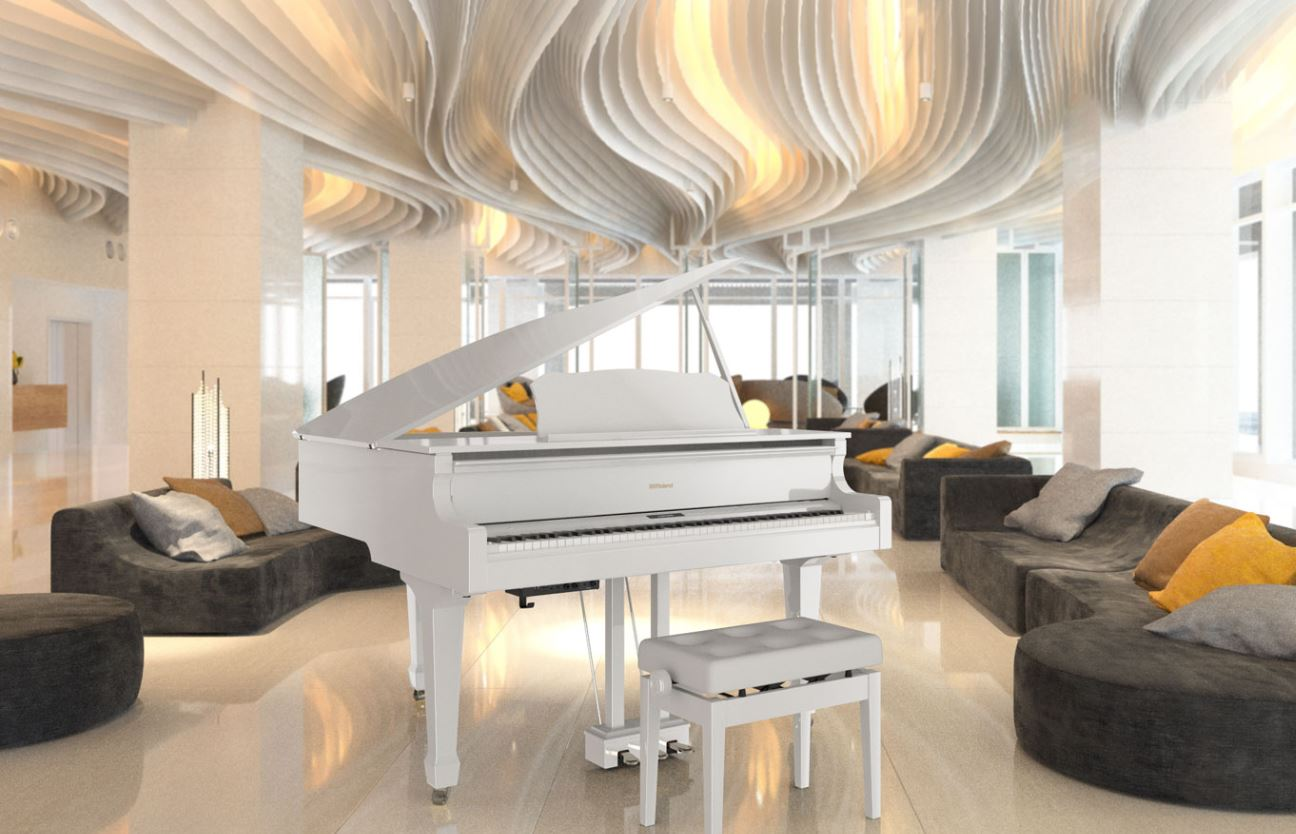 Amro Music: Roland GP609 Digital Grand Piano