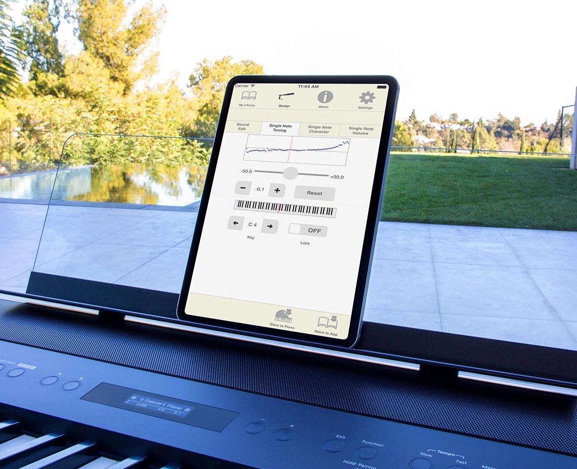 Roland Piano Designer App