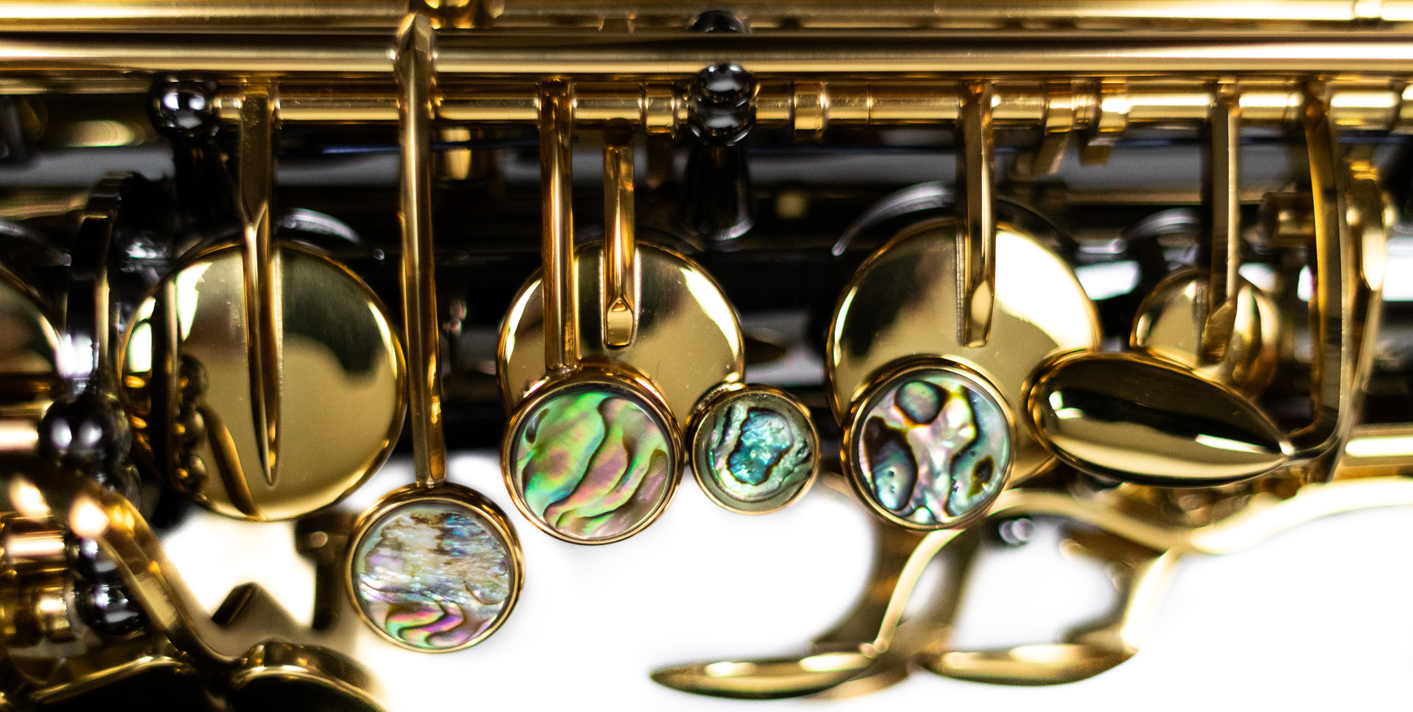 Buttons on a Saxophone