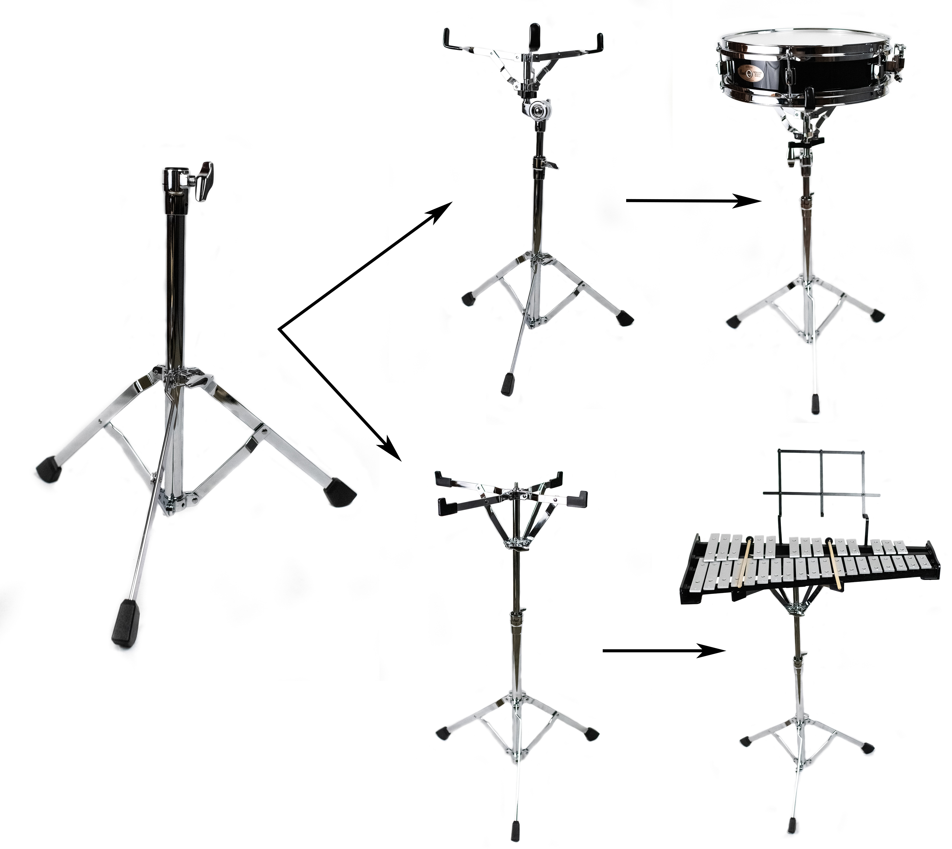 Assembling Percussion Kits