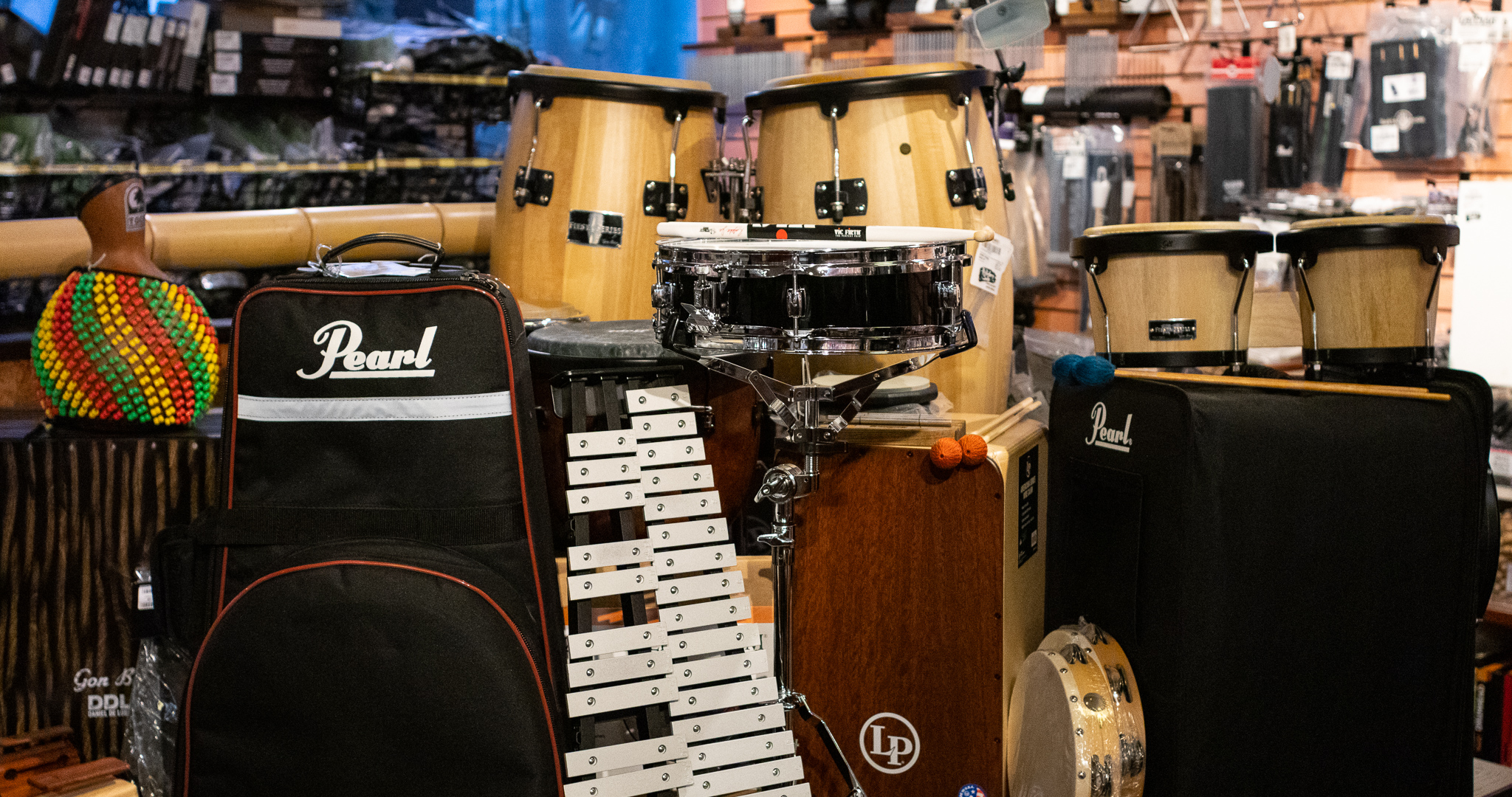 Percussion Instruments for Rent in Memphis, TN