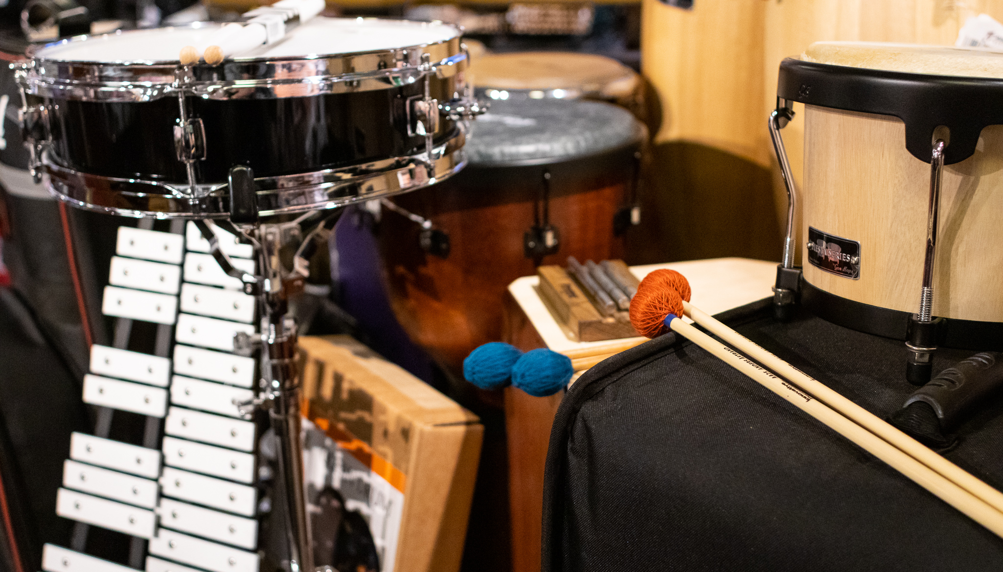Percussion Instruments in Memphis, TN
