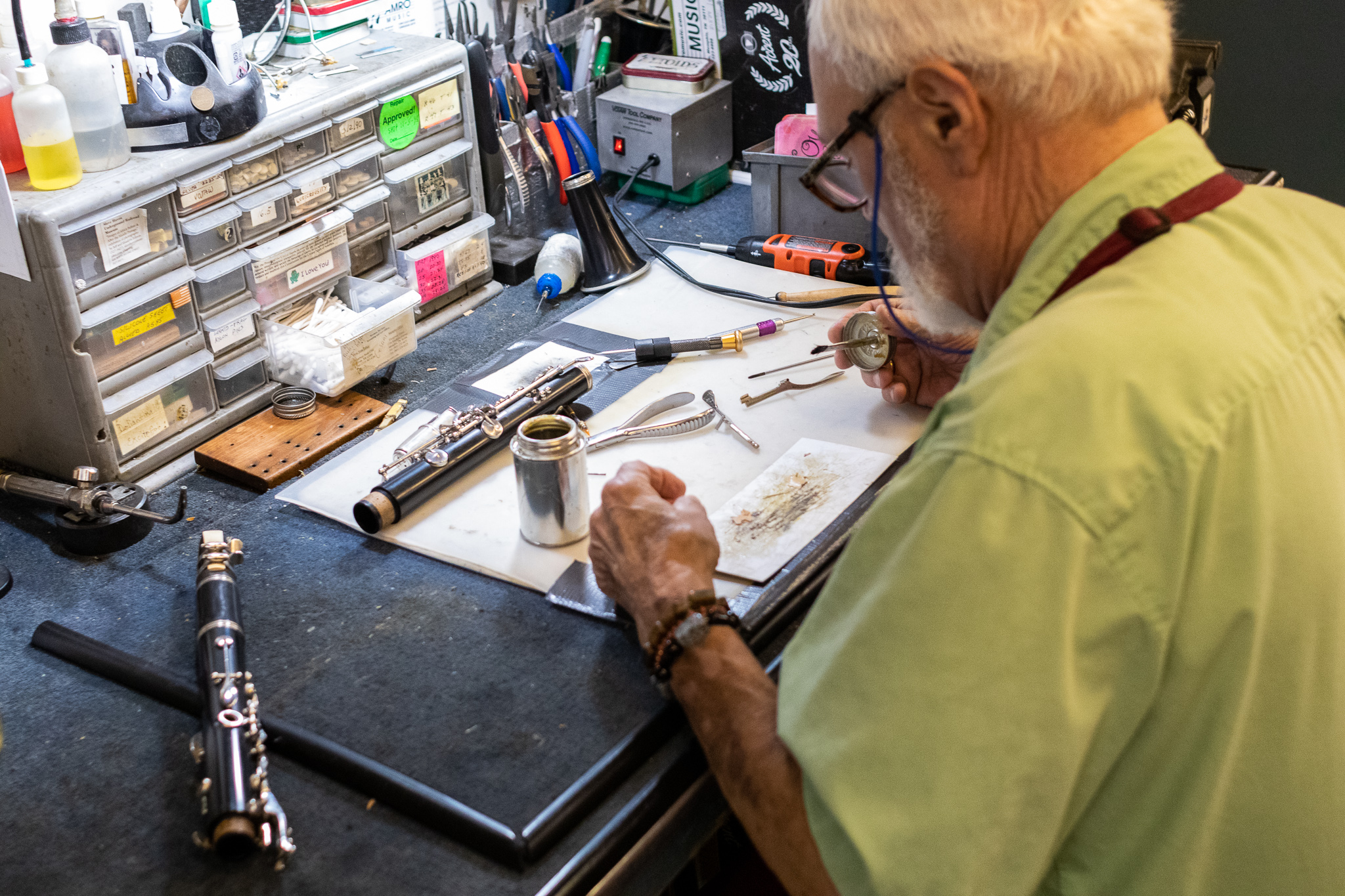 Clarinet Repair in Memphis