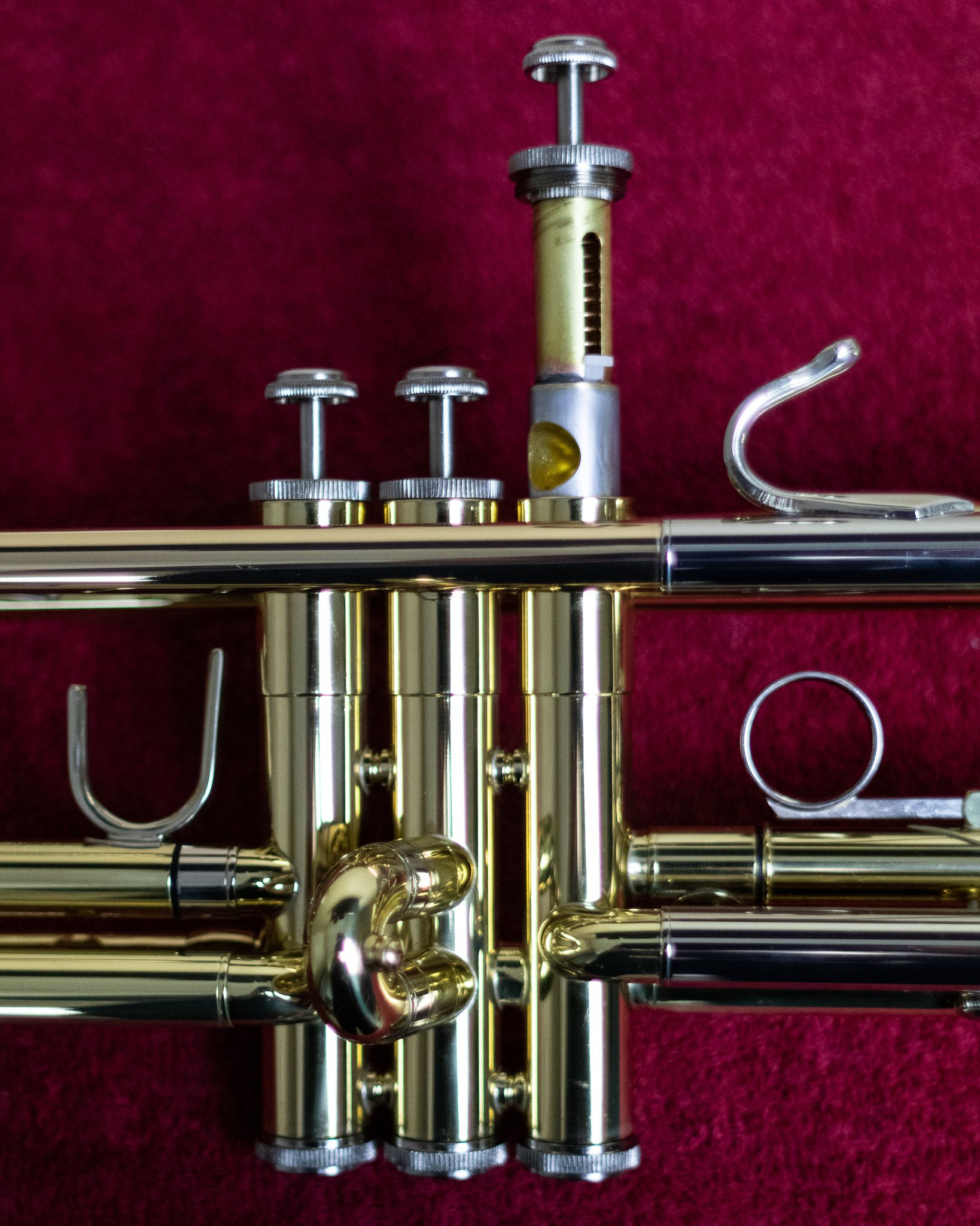 Oiling a Trumpet valve
