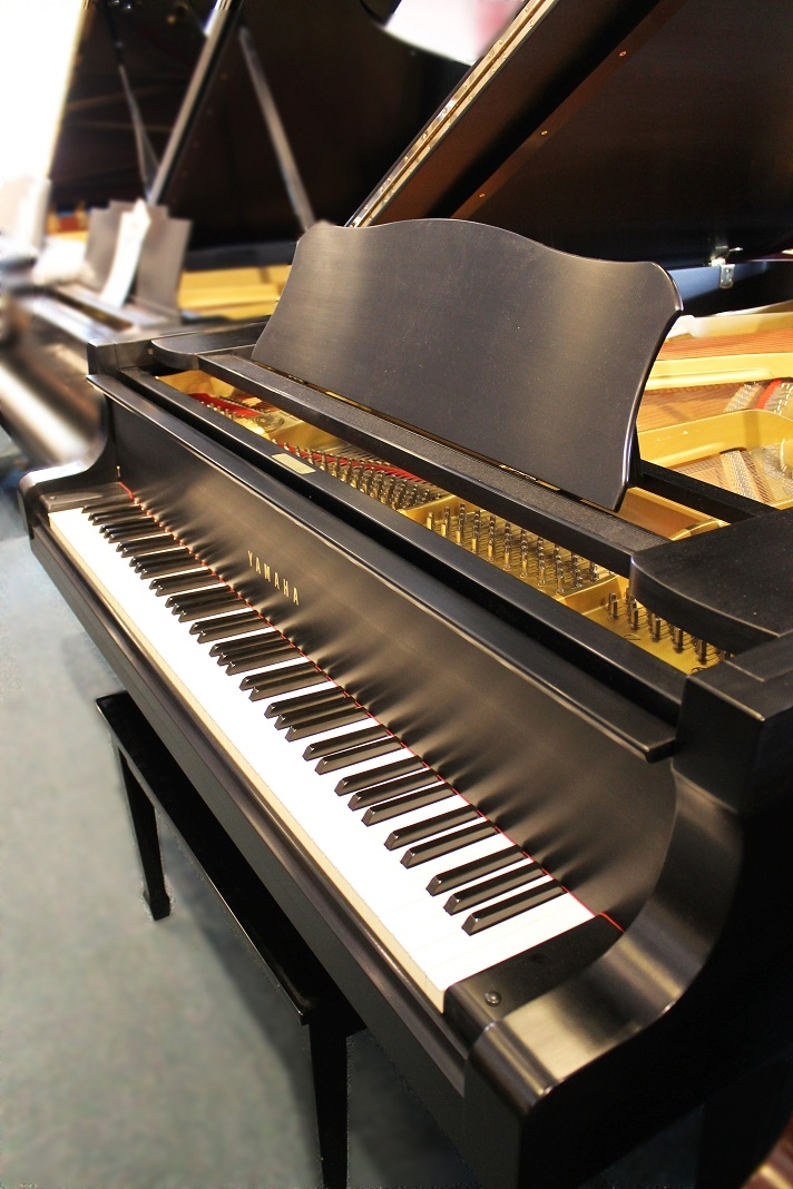 Amro Music Yamaha C7 Ebony Satin Grand Piano Sold