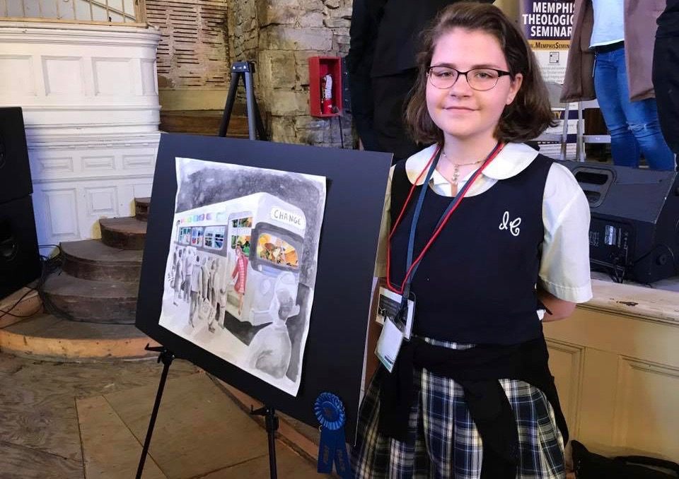ICCS Junior Selected for Prestigious Arts Program