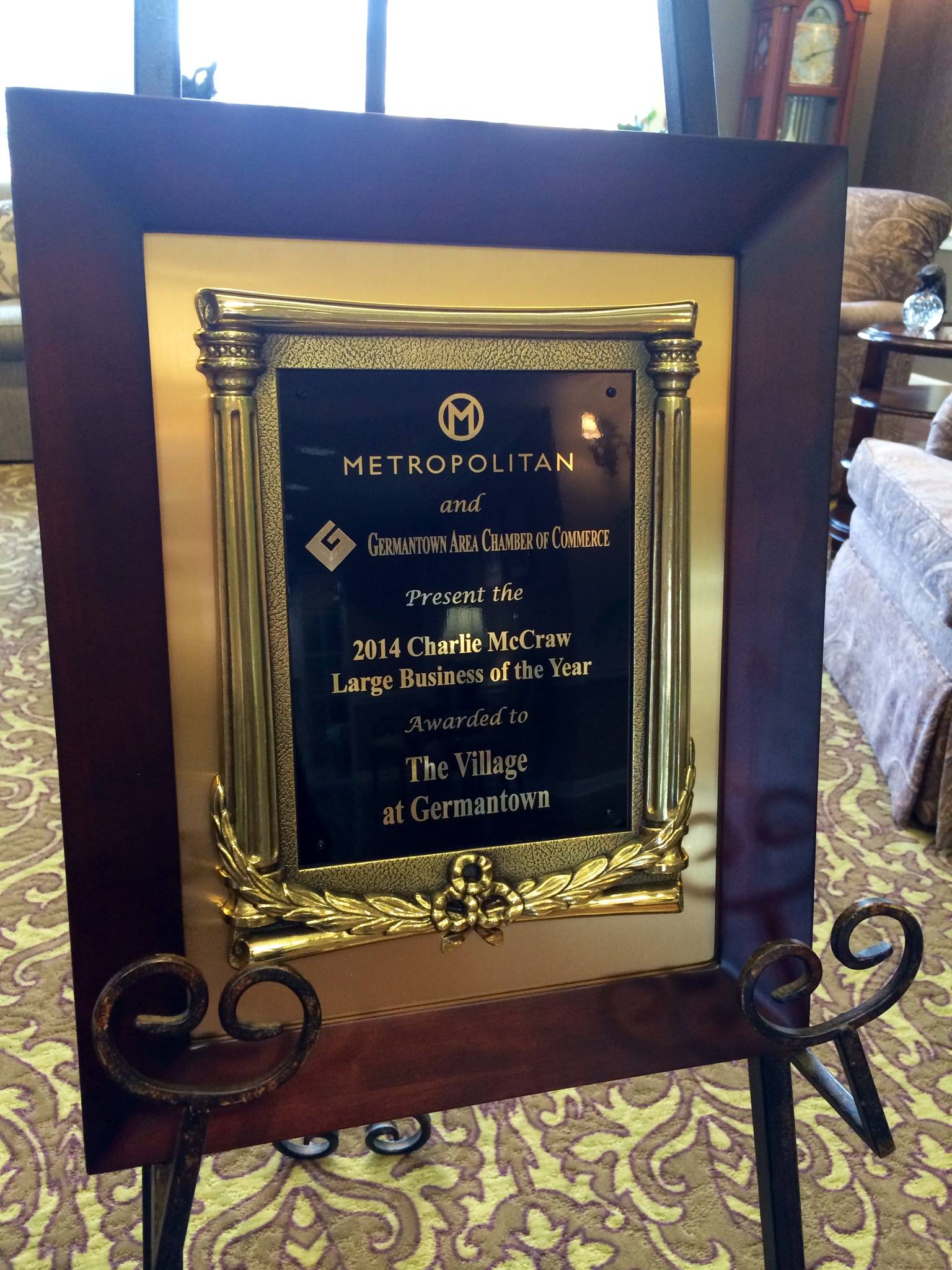 the village | large business of the year award | the village at germantown