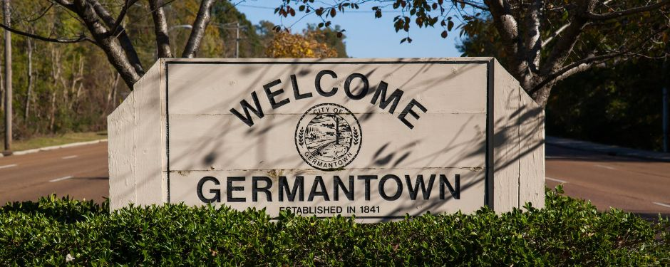 Welcome to Germantown Sign