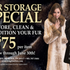 Fur Storage Sale!