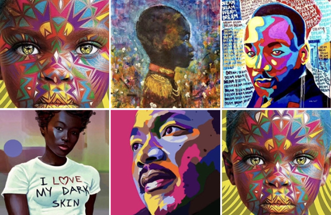 Celebrate Black History Month at the Cheryl Pesce Lifestyle Store with beautiful art and more!!