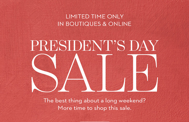 Save big at Chico's during their President's Day Sale!