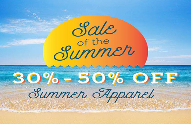 Stop by James Davis and save big this Summer!