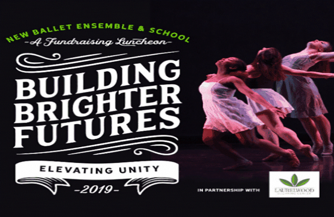 Join us and New Ballet Ensemble for the Building Brighter Futures Luncheon at The Campus Holiday Inn March 28 at noon!