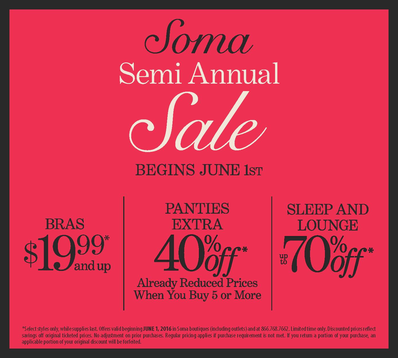 e9514ae50c4e Soma - Soma Semi Annual Sale