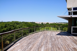 Science Resource Center deck
