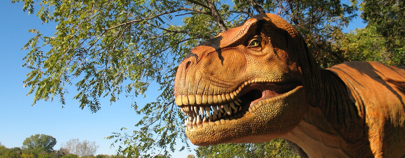 <p>Dinosaur Exhibit</p><p>Open September 1, 2018 through February 18, 2019</p>