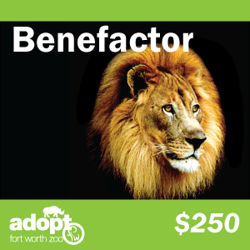 Fort Worth Zoo Benefactor Adoption Logo
