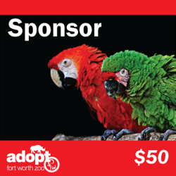 Fort Worth Zoo sponsor adoption logo